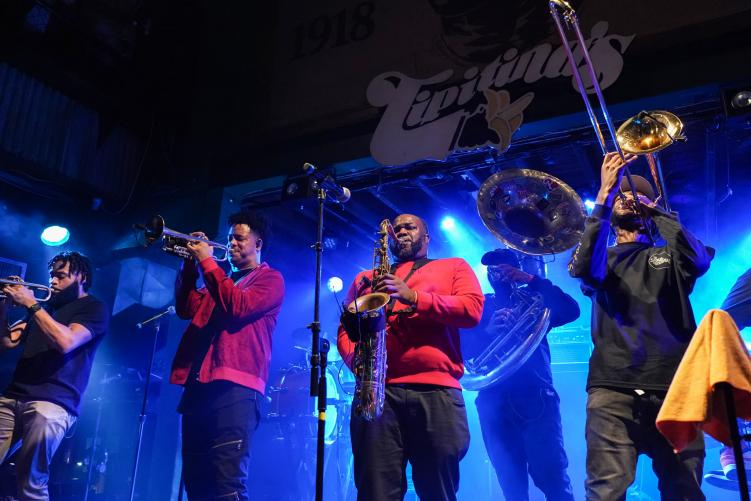 the soul rebels at tipitina's