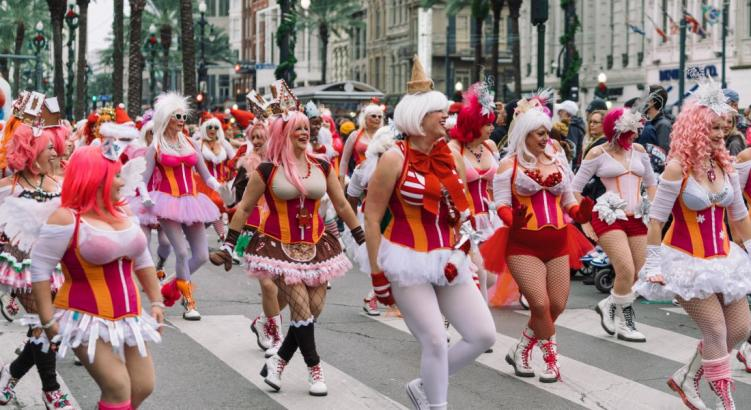 weekend in New Orleans: Krewe of Jingle