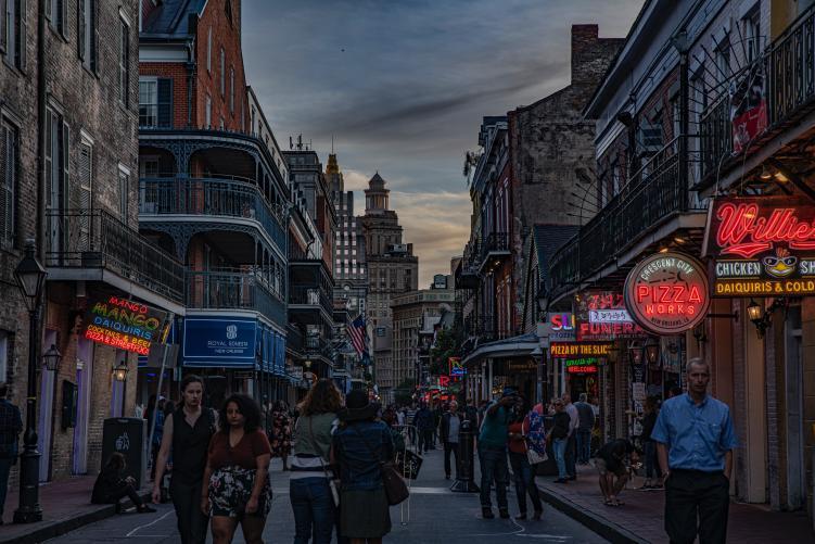weekend in New Orleans