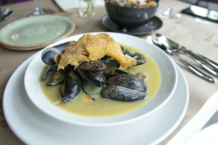Mussels at Boucherie